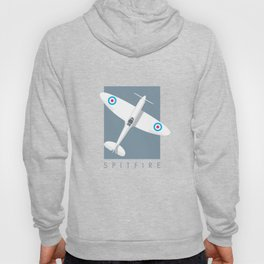 Spitfire WWII fighter aircraft - Slate Hoody