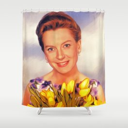 Deborah Kerr, Hollywood Legend Shower Curtain