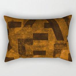 Lager Beer Typography Rectangular Pillow