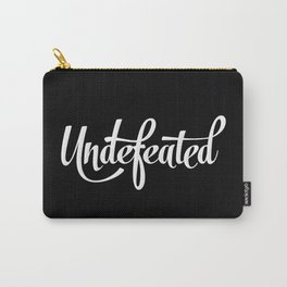 Undefeated Carry-All Pouch