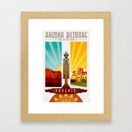 Phoenix Arizona Biltmore Sprite Art Deco Framed Art Print