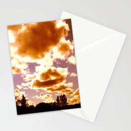 fire puffs Stationery Cards