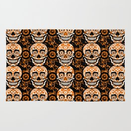 Halloween Calaveras Rug