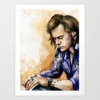 harry Art Prints featuring HARRY by Seefirefly