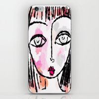 sassy iPhone & iPod Skins featuring Sassy by Rachelle Panagarry