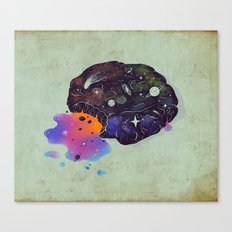 Cosmic Chip Cookie  Canvas Print