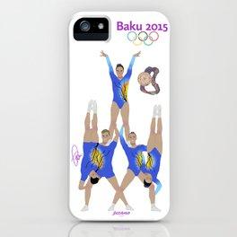 Baku2015 iPhone Case