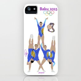 Baku2015 iPhone Case