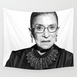 Ruth Bader Ginsburg Dissent Collar RBG Wall Tapestry