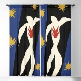 Henri Matisse The fall of Icarus (La Chute d'Icare) from Jazz Collection, 1947, Artwork, Men, Women, Blackout Curtain