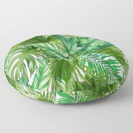 green tropic Floor Pillow