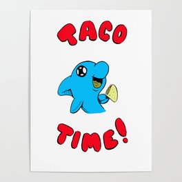 Taco Time!  Dolph Poster