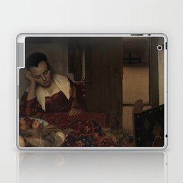 "Johannes Vermeer ""A Woman Asleep at Table"" Laptop & iPad Skin"