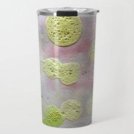 Green dots Travel Mug