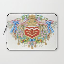 Versailles-style arms of the Chevalier d'Orleans Laptop Sleeve