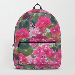 Magenta Geraniums Backpack