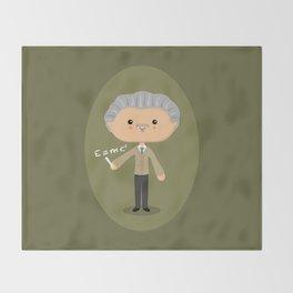 Albert Einstein Throw Blanket