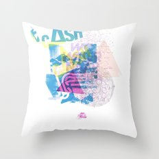 Cash Silk 001 Throw Pillow