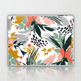 Botanical brush strokes I Laptop & iPad Skin
