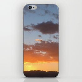 Desert Sunset in Ocotillo Wells California iPhone Skin