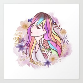 EMIKA Art Print