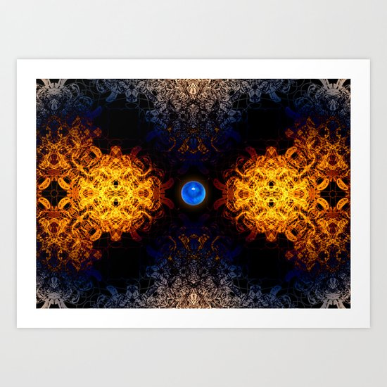 Earth And Fire Art Print