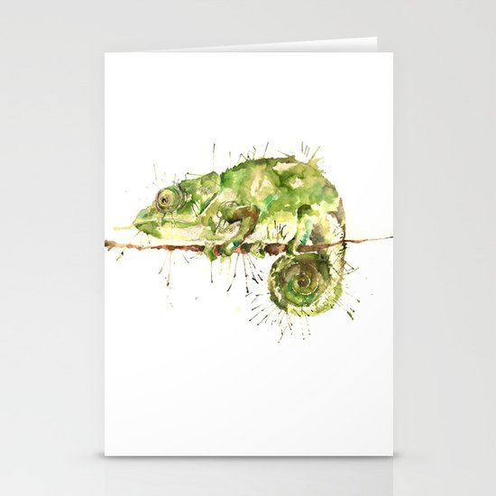 Green Guy Stationery Cards