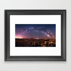 Night Sky - 2 Framed Art Print