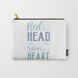 Red in the Head Carry-All Pouch