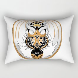 Copperhead Dragon Rectangular Pillow