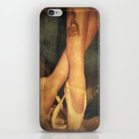 ballerina iPhone & iPod Skins featuring Ballerina  by Elina Cate