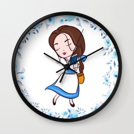 CUTE BELLE Wall Clock