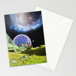 Lunar Outpost 2079 Stationery Cards