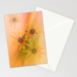 4 Sunflowers Stationery Cards