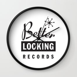 Better Looking Records Wall Clock