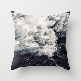 Rush of Waves Throw Pillow