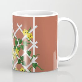 Black-Eyed Susans on Browns Coffee Mug