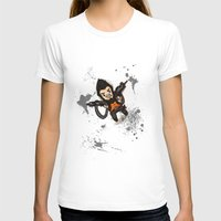 borderlands T-shirts featuring Borderlands 2 - Chibi Gunzy! by Emme Gray