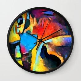Cow 2 Wall Clock