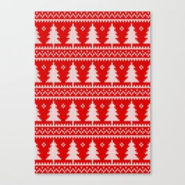 Christmas tree's Canvas Print