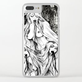 Holy Triad Clear iPhone Case