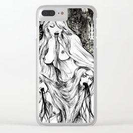 Holy Triad Clear iPhone Case
