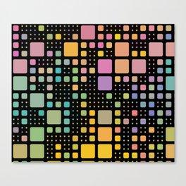 Pop Squares Canvas Print