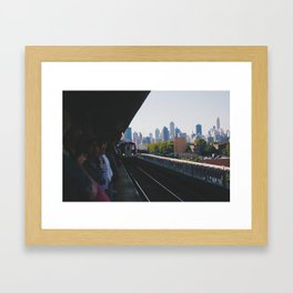 Train Framed Art Print
