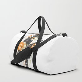 Dj's Lightning Of Vinyl Music Duffle Bag