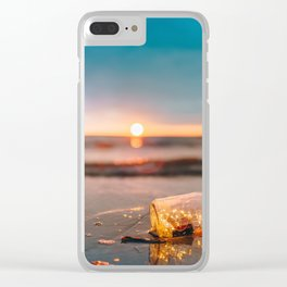 Element: Water (013) Clear iPhone Case