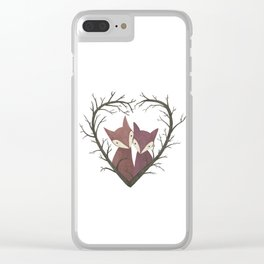 Valentine Clear iPhone Case
