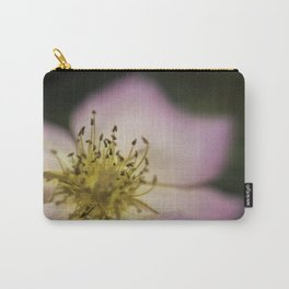 Pink Wild Rose Carry-All Pouch