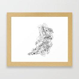 Transitions Distilled Framed Art Print