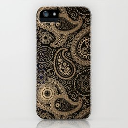 PAISLEY DREAM ( Black ) - for iphone iPhone Case
